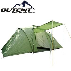 "Zelte kaufen - Outent® Campingzelt, Familienzelt, Zelt ""Cromwell IV"" für 4 Personen"
