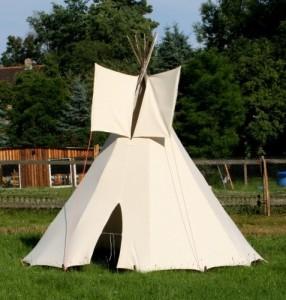 Tipi Zelt kaufen - Modell: 3m großes Tipi Indianertipi Indianerzelt Wigwam Zelt