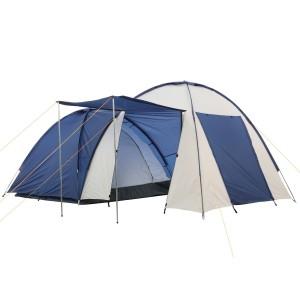 Zelte kaufen - CampFeuer® - Kuppelzelt mit großem Vorbau (4 Personen)